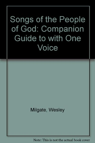 9780005998069: Songs of the People of God: Companion Guide to with One Voice