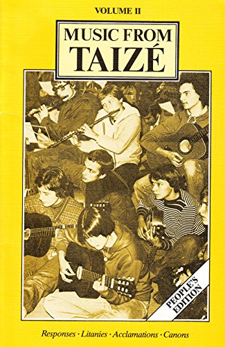 9780005998847: Music from Taize : People's Edition: Vol 2