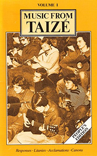 9780005999523: Music from Taize; Volume 1: Peoples Edition