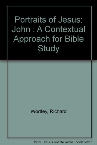 9780005999769: Portraits of Jesus: John : A Contextual Approach for Bible Study