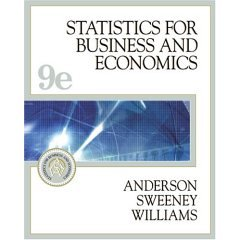 9780006039761: Statistics for Business and Economics- Text Only