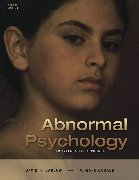 9780006107002: Abnormal Psychology- Text Only