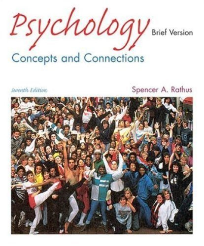9780006110477: Psychology: Concepts&Connections Brief Version (7th Edition) Text Only