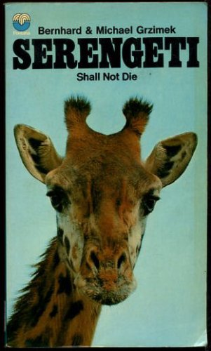 9780006121190: SERENGETI SHALL NOT DIE
