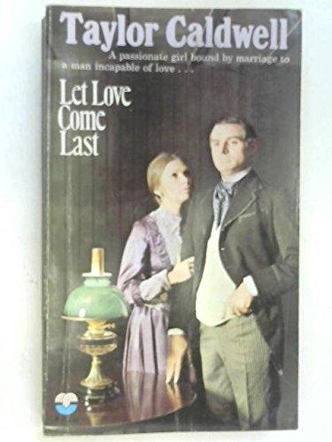 9780006121657: Let Love Come Last