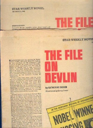 9780006122975: File on Devlin