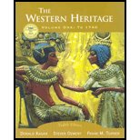 The Western Heritage, Vol. 1: To 1740 - Textbook Only: J.K