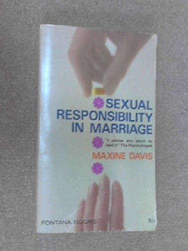 9780006125235: Sexual Responsibility in Marriage