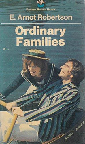 9780006127734: Ordinary Families (Fontana modern novels)