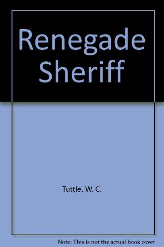 9780006129974: Renegade Sheriff