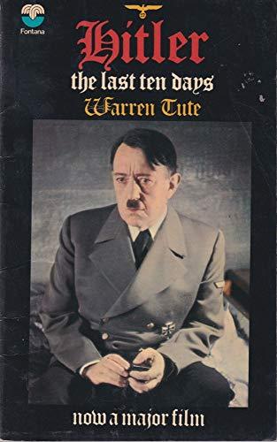 9780006132684: Hitler: The Last Ten Days