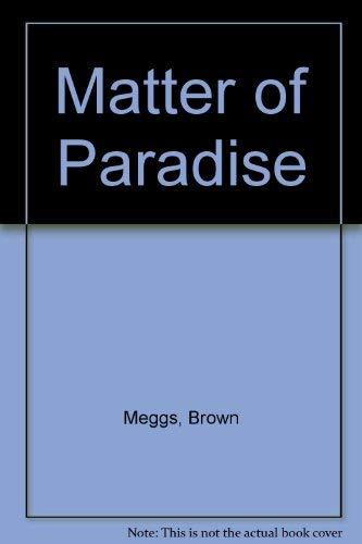 9780006146629: Matter of Paradise