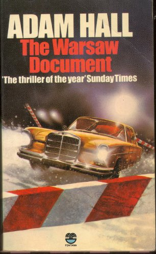 9780006154167: The Warsaw Document (Quiller 4)