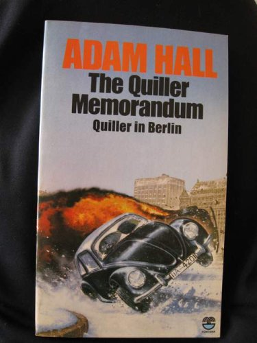 9780006157816: The Quiller Memorandum