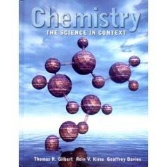 9780006159100: Chemistry: The Science in Context- Text Only