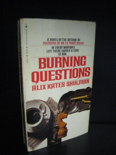 9780006159551: Burning Questions