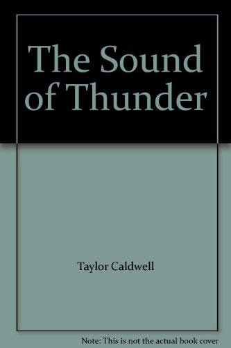 9780006159926: The Sound of Thunder