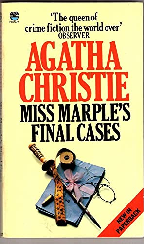 9780006162070: Miss Marple's Final Cases and Others