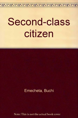 9780006164807: Second-class citizen
