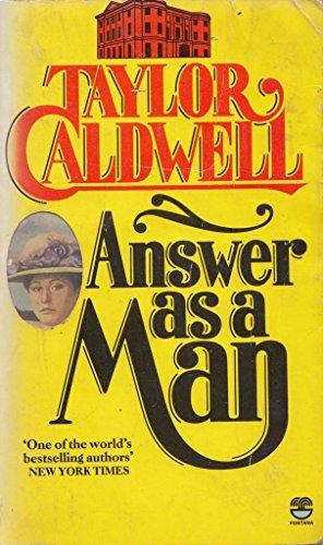 9780006165064: Answer as a Man