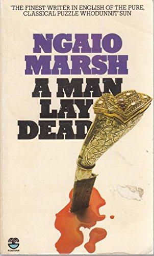 9780006170808: A Man Lay Dead