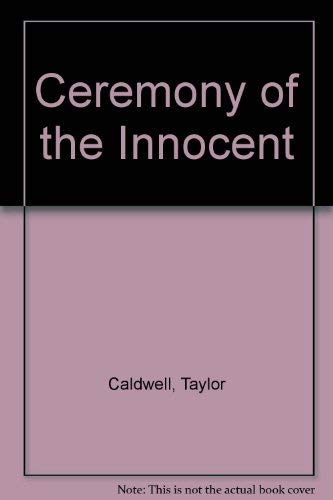 9780006172642: Ceremony of the Innocent