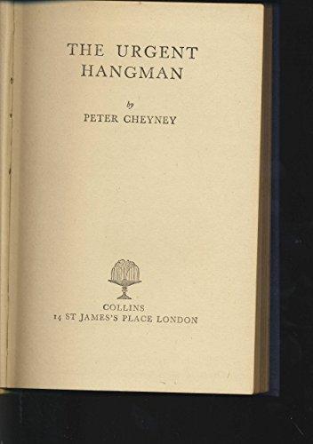 9780006173557: Urgent Hangman