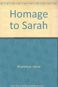 9780006177951: Homage to Sarah