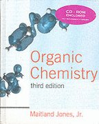 ORGANIC CHEMISTRY-TEXT ONLY (0006178367) by Jones, Maitland