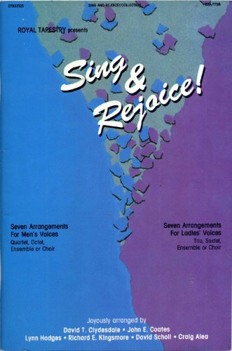 Sing and Rejoice (9780006181002) by Clydesdale/Coates/Hodges/Kingsmore/Scholl/Alea Arrangers