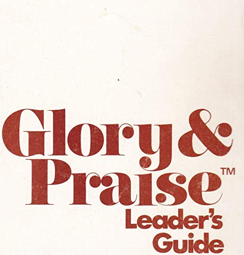 9780006190738: Glory and Praise Leader's Guide