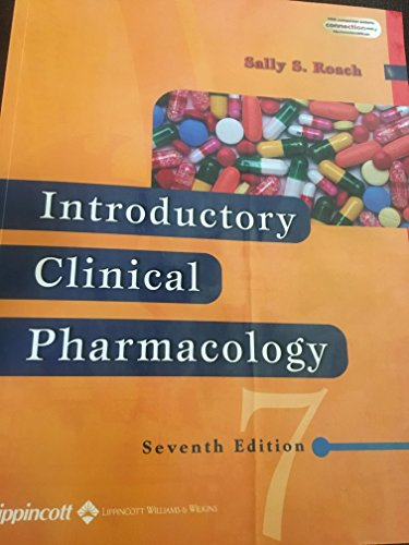 9780006204053: Introductory Clinical Pharmacology- W/CD