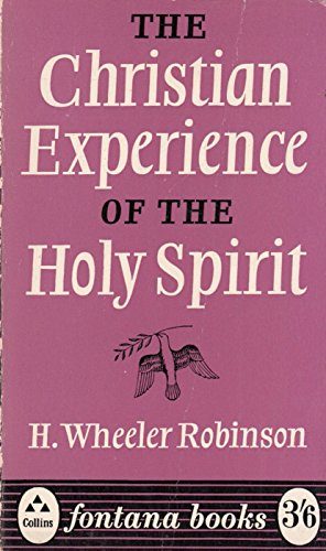 9780006207047: Christian Experience of Holy Spirit