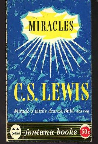 9780006211082: Miracles