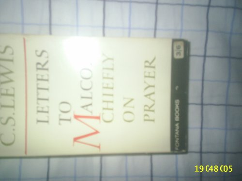 9780006212393: Letters to Malcolm: Chiefly on Prayer