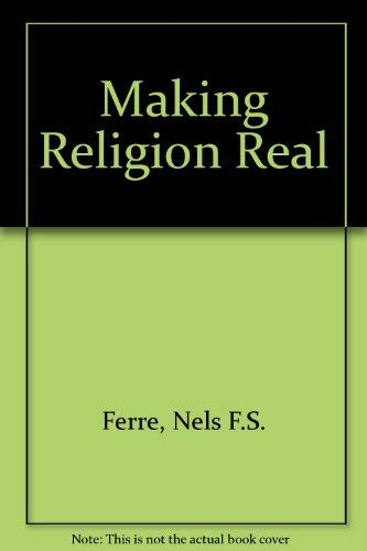 9780006216742: Making Religion Real