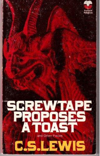 9780006224853: Screwtape Proposes a Toast