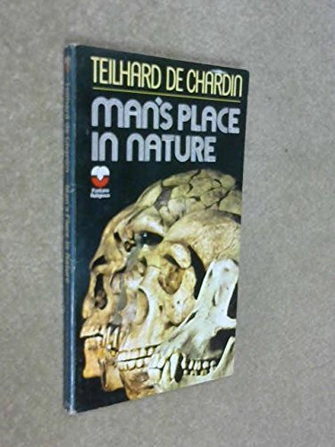 9780006225478: Man's Place in Nature (Fontana religious)