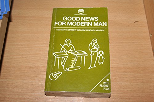 9780006229704: Good News for Modern Man: Today's English Version of the New Testament