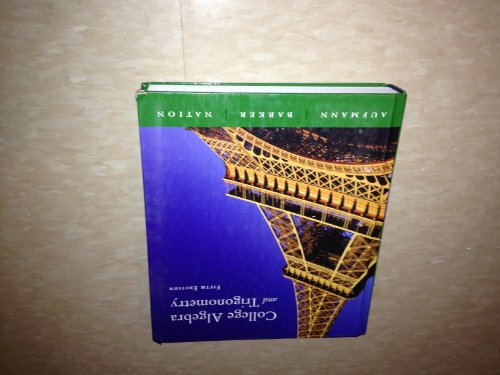 9780006249009: College Algebra&Trigonometry (5th Edition) Text Only