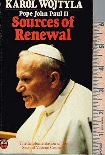 9780006261131: Sources of Renewal: Implementation of the Second Vatican Council