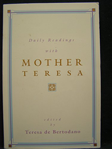 9780006278108: Daily Readings With Mother Teresa