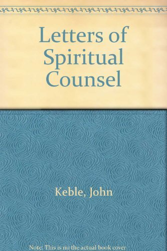 9780006279709: Letters of Spiritual Counsel