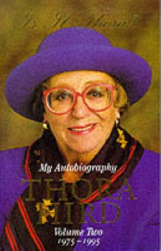 9780006279860: Is It Thora?: My Autobiography, Volume 2, 1975-95