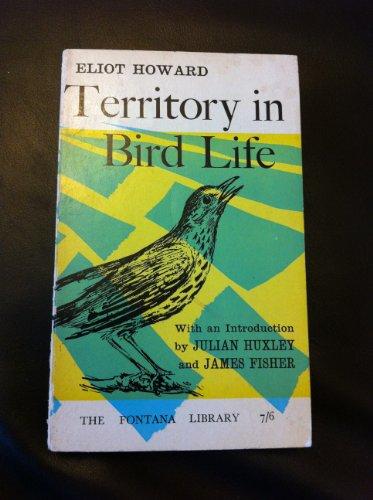 9780006308751: Territory in Bird Life