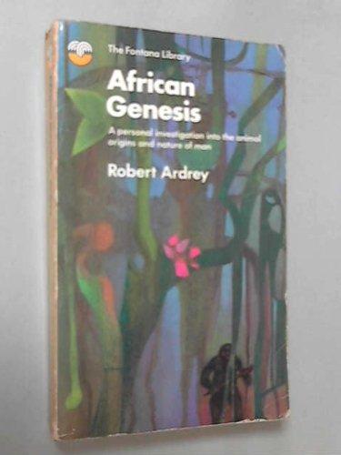 9780006316121: African Genesis