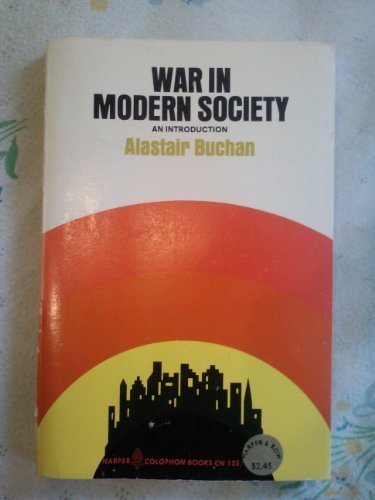 9780006318064: War in Modern Society, An Introduction