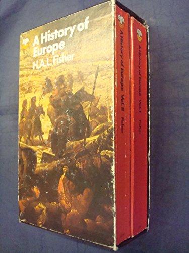 9780006320708: History of Europe: v. 1