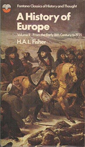 9780006320715: History of Europe: v. 2