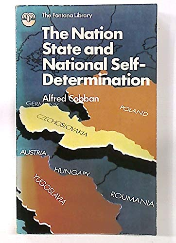 9780006321026: Nation State and National Self-determination